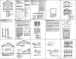 Diy Wood Shed Plans Free by The 25 Best Shed Plans 12x16 Ideas On Pinterest Shed Plans Diy