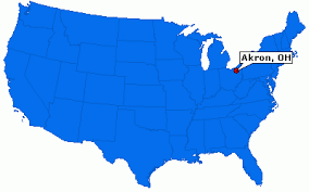 of akron map akron ohio city information epodunk