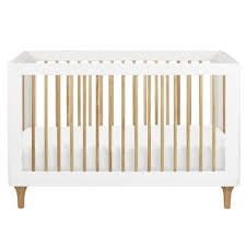 Harlow 3 In 1 Convertible Crib Modern White Cribs Allmodern