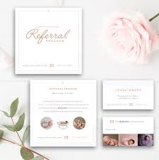 card templates for photoshop photography referral card photoshop template referral program photography referral card photoshop template referral program tell a friend photographer templates
