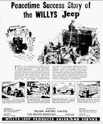 Jeep Scrambler For Sale Canada Advertising U0026 Brochures Ewillys Page 5