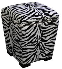 8 ottomans for zebra print lovers cute furniture