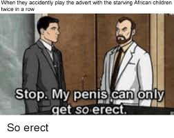 African Children Meme - when they accidently play the advert with the starving african