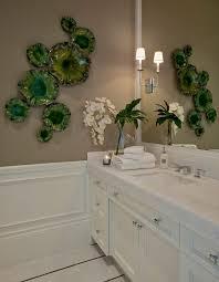 Wainscoting Bathroom Vanity Miami White Granite Countertops Bathroom Transitional With Panel