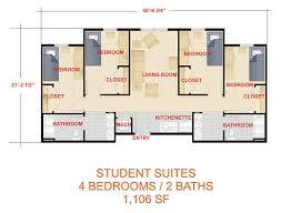 housing floor plans laker clayton state