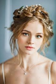 Bridal Makeup Ideas 2017 For Wedding Day 25 Trending Flower Hairstyles Ideas On Pinterest Rose Braid