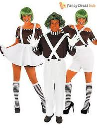 Oompa Loompa Halloween Costumes Adults Candy Creator Female Fancy Dress Costume Oompa Loompa
