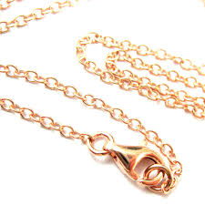 plated rose gold necklace images Rose gold necklace gold plated vermeil sterling silver necklace jpeg