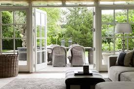 Modern Country Style Modern Country Style Using Grey Rattan Kubu Chairs In Modern