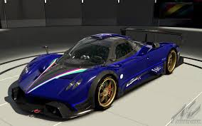 blue pagani zonda pagani zonda r tricolore 4 and 2 k racedepartment