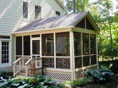 Sunrooms Columbus Ohio Screen Porch And Deck In St Louis County Screened Porches