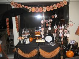 Halloween Birthday Decoration Ideas halloween themed birthday party 3 best birthday resource gallery