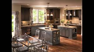 dining u0026 kitchen awesome grey medallion cabinets with small