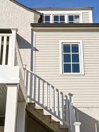 decor tips amazing wood siding types with exterior staircase and