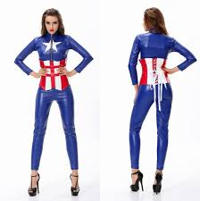 woman role playing game uniforms the avengers captain america