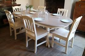 Extending Dining Table And 6 Chairs Top 20 Shabby Chic Extendable Dining Tables Dining Room Ideas