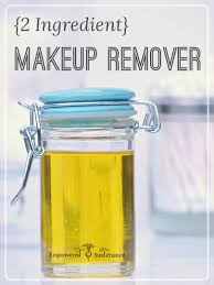diy makeup remover only 2 ingredients needed
