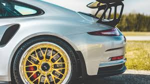 gold porsche gt3 new rotiform wheels on the porsche gt3 rs youtube