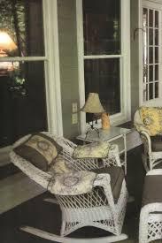 die besten 25 wicker rocking chair ideen auf pinterest veranda
