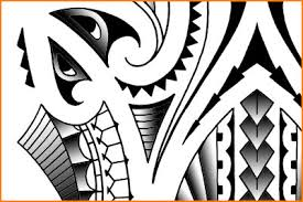 polynesian maori tribal tatoo designs a detail of a polyne u2026 flickr