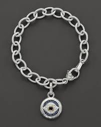 evil eye charm bracelet images Judith ripka sterling silver evil eye charm bracelet jpg