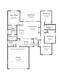 country cottage floor plans home designs house plan 1178 the signature southern
