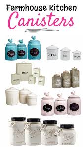 green kitchen canister set farmhouse kitchen canister sets and farmhouse decor ideas white