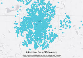 Penn State Campuses Map by Uber And Public Transit Working Hand In Hand In Edmonton