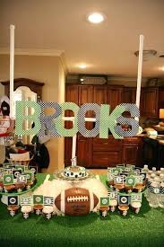 football centerpieces marvelous football party decoration unique football party