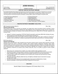 Air Force Resume Samples by Project Manager Resume Sample Bidproposalform Com
