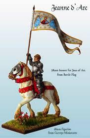 Battle Flag New 28mm Joan Of Arc Banner From Battle Flag Battle Flag