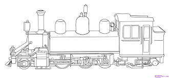 intricate train coloring pages free printable thomas train