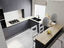 grayjust interior ideas just interior design ideas a fruit bowl is a simple decorative element that unifies the butcher block countertop with the grey theme and can hold seasonal fruits for a pop of color