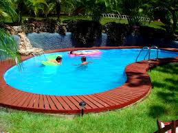 Backyard With Pool Landscaping Ideas Furniture Glamorous Backyard Landscaping Ideas Swimming Pool