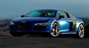 Audi R8 Blue - car revs daily com 2014 audi r8 v10 plus in sepang matte metallic