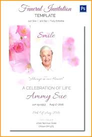 funeral service invitation dreaded memorial service invitations 61 niengrangho info