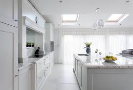 blue grey painted kitchen portmarnock ireland