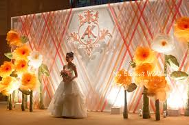 wedding backdrop hk indoor stages event management branding solutions wedding