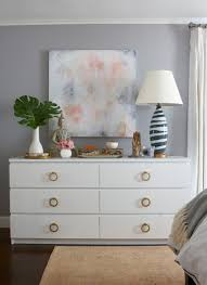 easy tips for decorating your dresser top styled dresser top