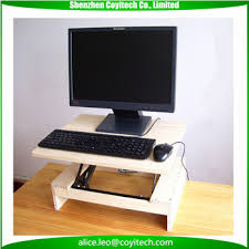 Standing Height Table by Standing Height Computer Desk Stand Table For Mac And Pc Buy
