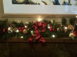decorated garland with lights 6ft wreaths direct