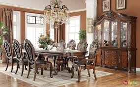 formal dining chairs merlot 9 piece formal dining room furniture