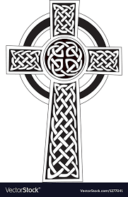 celtic cross royalty free vector image vectorstock