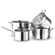 batterie cuisine batterie cuisine stainless steel par trio