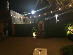 Dallas Outdoor Lighting by Cafe String Lighting For Dallas Fort Worth Weddings