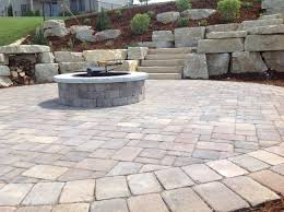 Backyard Pavers Ideas Rich Color Lowes Pavers U2014 Rebecca Albright Com