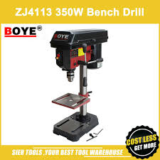 best drill press table zj4113 350w bench drill boye bench drilling machine metal table