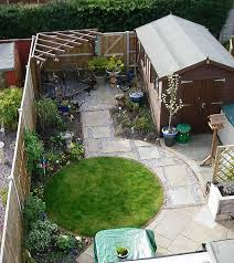 homey inspiration small garden designs modern white design ideas