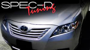 specdtuning installation video 2007 2008 camry headlight youtube