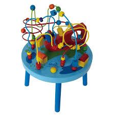 wooden bead toy table wooden bead toy table kids activity center play toys maze
